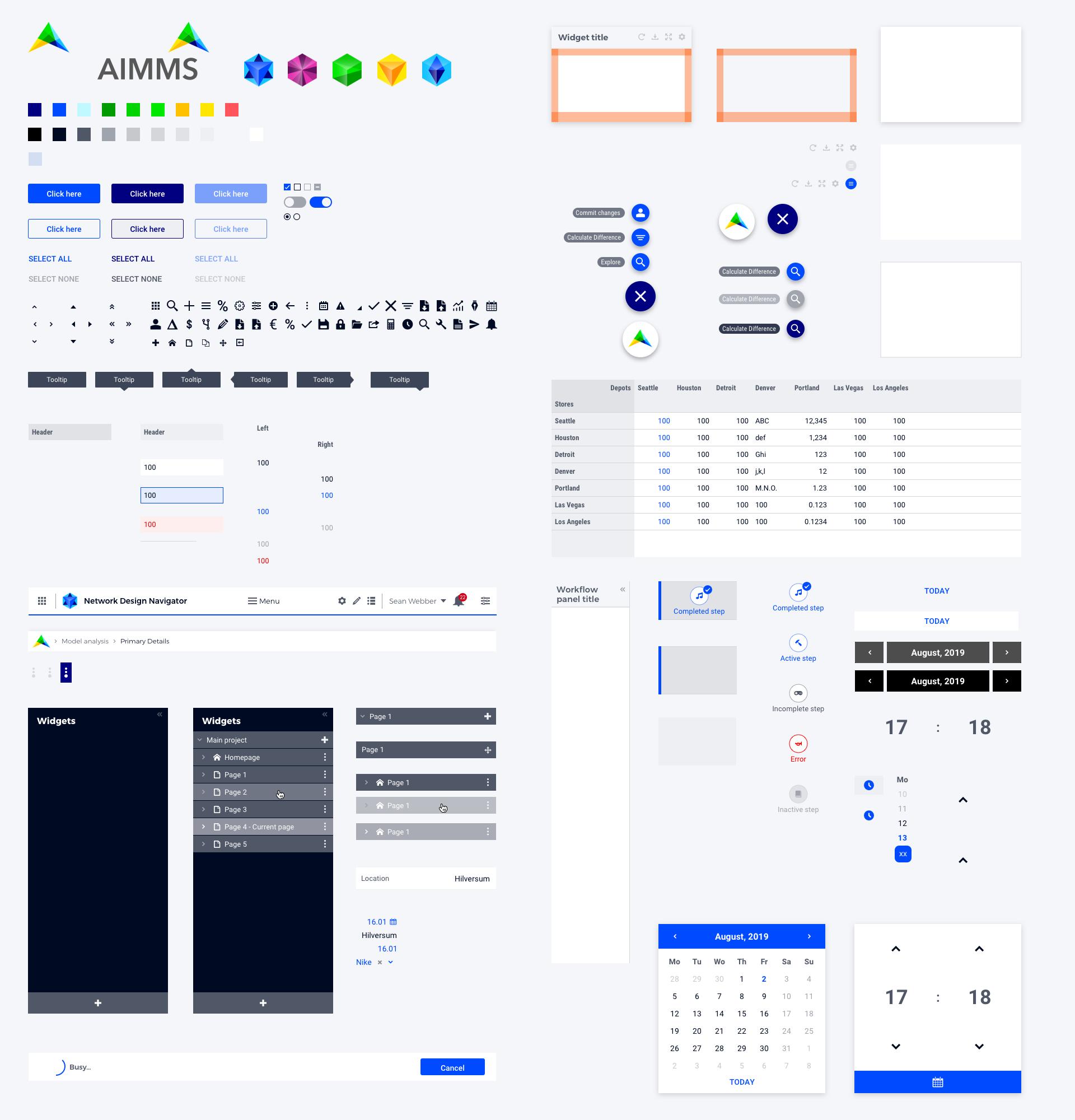 AIMMS-DesignSystem