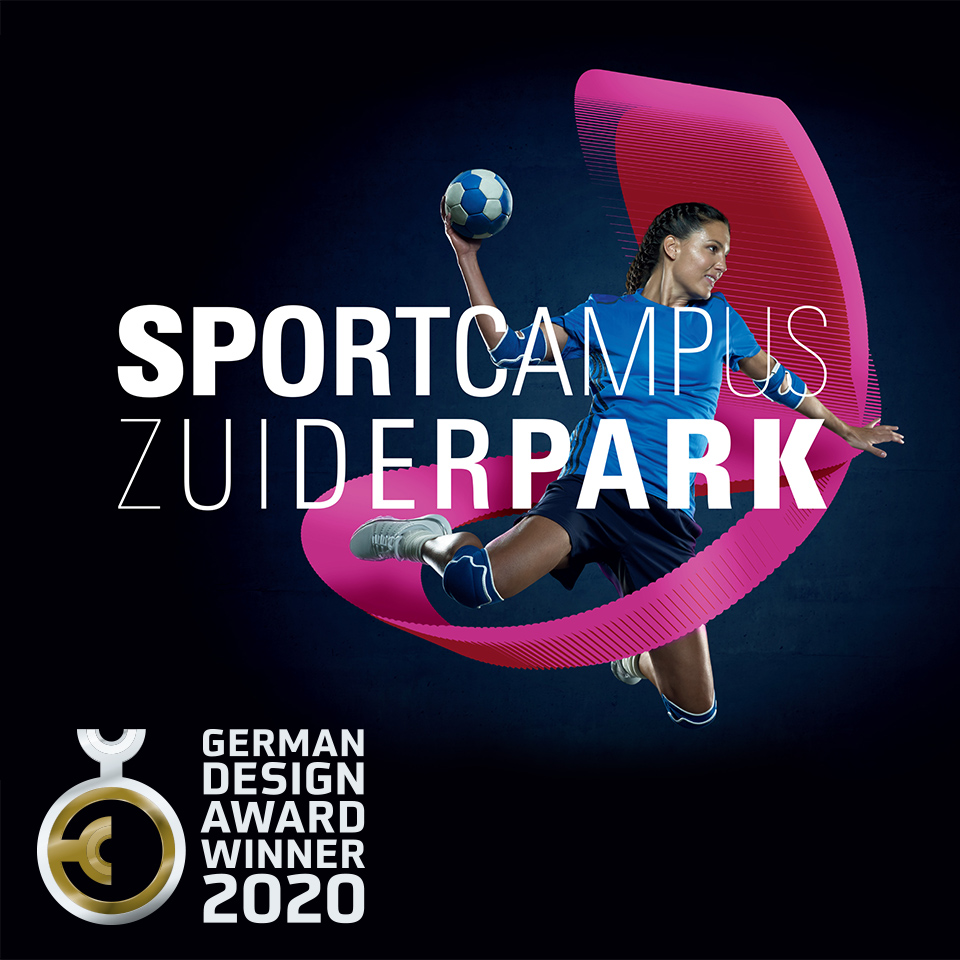 SportcampusZuiderpark wint German design award