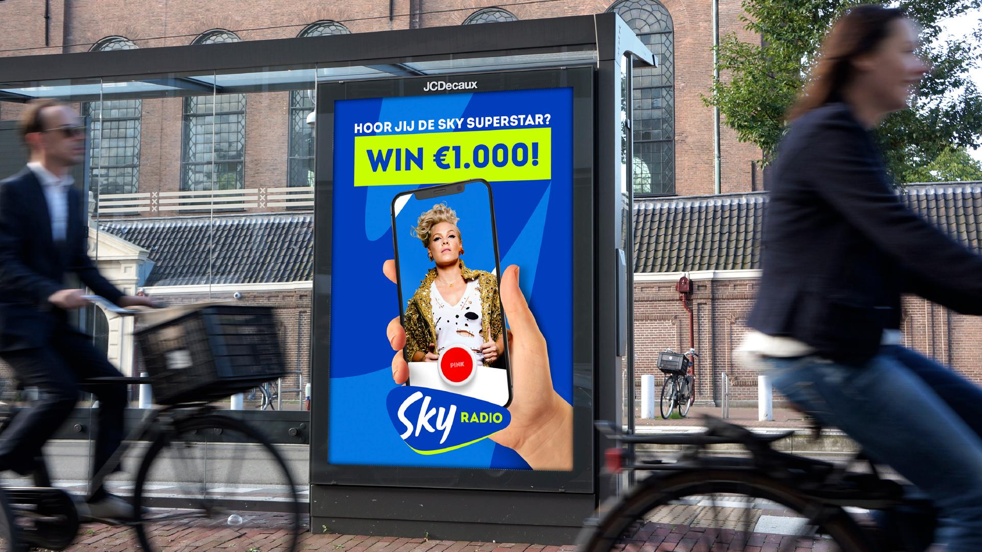 Sky Radio abri poster