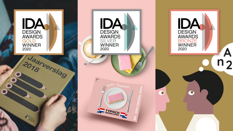 Total design wint drie International Design Awards